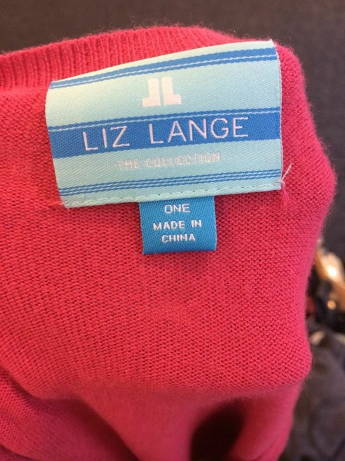 Liz Lange Maternity for Target Liz Lange Maternity Dark Fuschia Long Sleeve Sweater