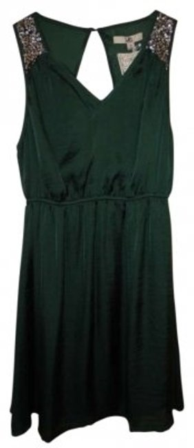 Preload https://img-static.tradesy.com/item/143658/ya-los-angeles-forest-green-above-knee-cocktail-dress-size-12-l-0-0-650-650.jpg