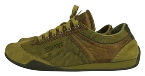 Esprit Suede Lime Green Athletic