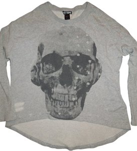 Hot Topic Skull Factory Destroyed Sz M Sweatshirt