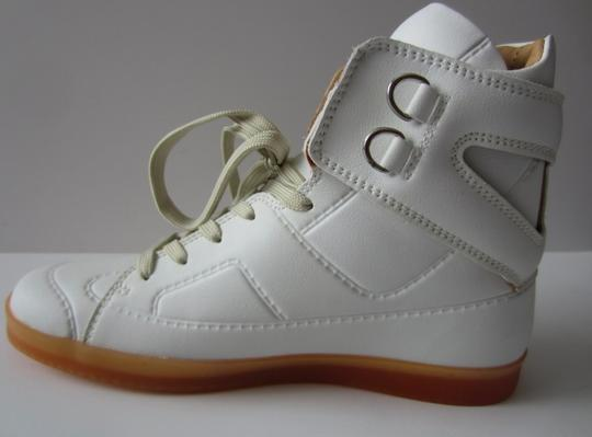 Maison Martin Margiela x H&M Limited Edition Sneakers Leather White Athletic