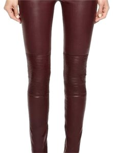 BLK DNM Skinny Pants Ruby red