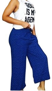 H&M Capris Blue, Black