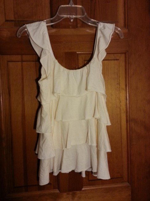 Express Ruffle Tiered Top