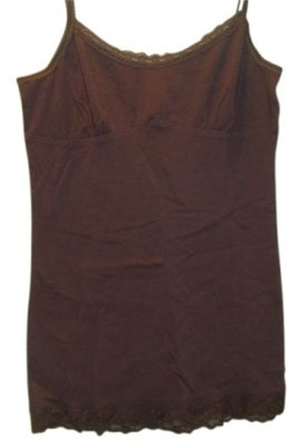 Preload https://item3.tradesy.com/images/forever-21-brown-basic-with-lace-tank-topcami-size-12-l-14367-0-0.jpg?width=400&height=650