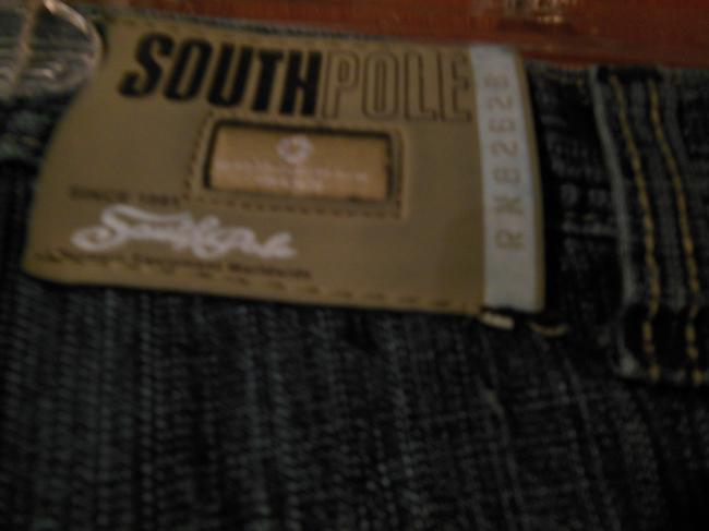 South Pole Collection Boys Size 12 Adjustable Waist Child Straight Leg Jeans-Medium Wash
