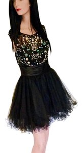 FabuLuxe Couture Prom Bridesmaid Hand Beaded Dress