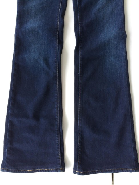 Genetic Denim Flare Leg Jeans-Dark Rinse