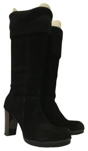 Kenneth Cole Black Suede Boots