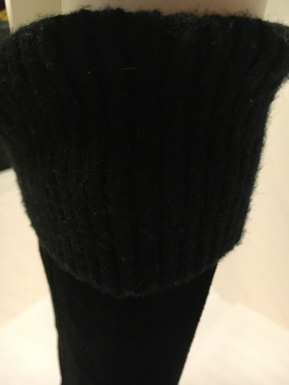 Kenneth Cole Long Black Suede Boots Image 5