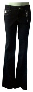 House of Deron Boot Cut Jeans-Dark Rinse