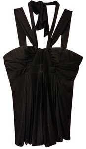 BCBG Max Azria Strappy Sleeveless Halter Top