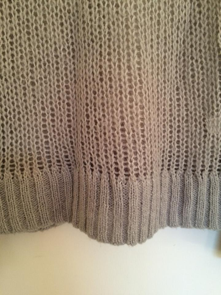 Aerie Light Beige Knitted Pullover Sweater Sz M Clothing, Shoes & Accessories