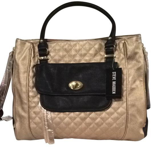 Preload https://img-static.tradesy.com/item/1436869/steve-madden-carry-on-gold-and-black-shoulder-bag-0-0-540-540.jpg