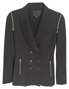 Alexander Wang Zipper Black Blazer