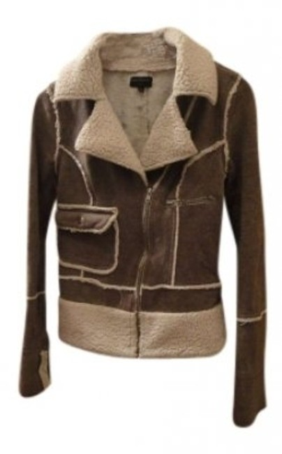 Preload https://img-static.tradesy.com/item/143699/beige-and-brown-motorcycle-jacket-size-2-xs-0-0-650-650.jpg