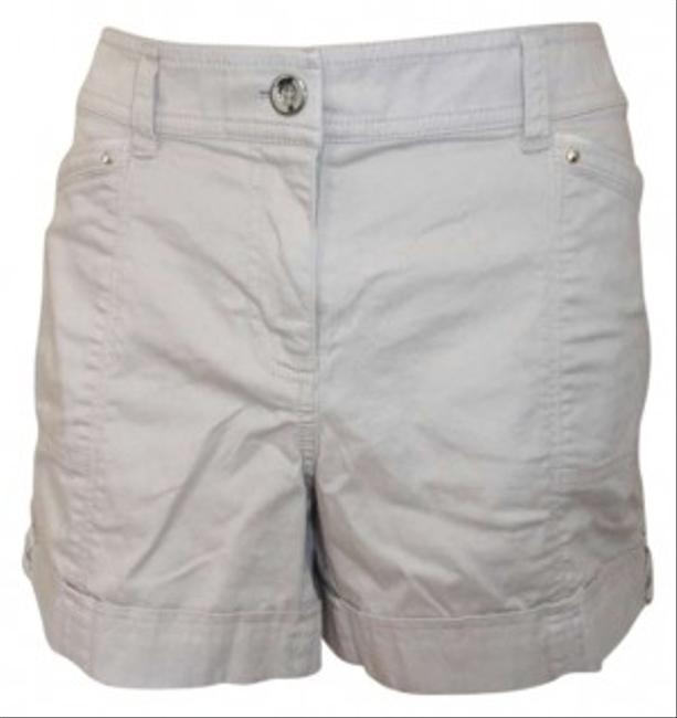 White House | Black Market Dress Shorts Beige