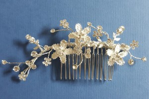 Bridal Hair Comb With Rhinestones