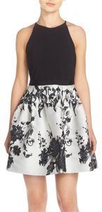 Adrianna Papell Sleeveless Floral Jersey Dress