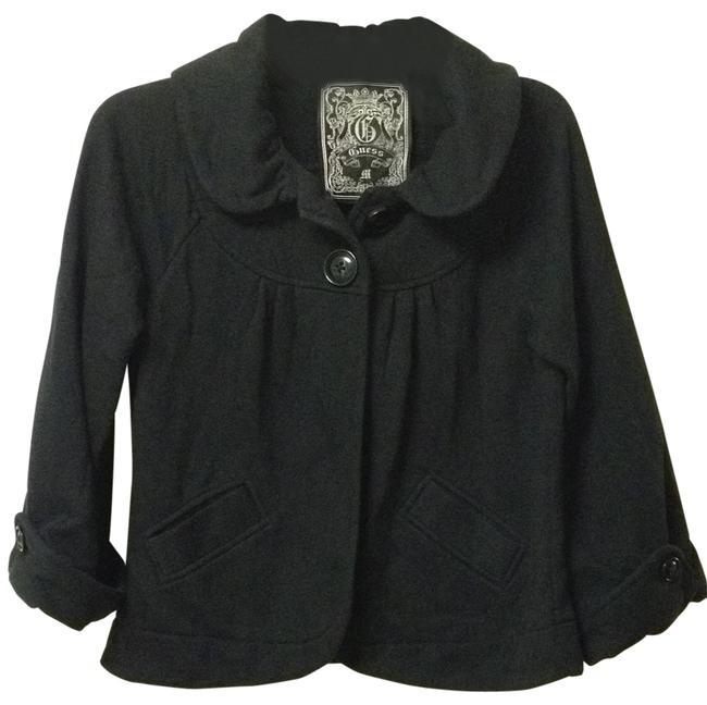 Preload https://item1.tradesy.com/images/guess-black-2-button-coat-sweaterpullover-size-8-m-143710-0-0.jpg?width=400&height=650
