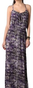 purple print Maxi Dress by Parker