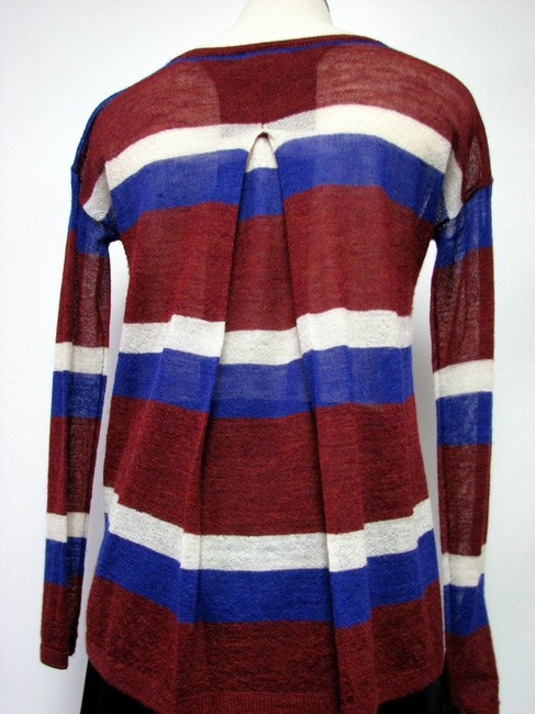Neiman Marcus Joie Alpaka Semi Sheer Sweater