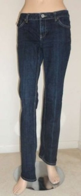 Banana Republic Straight Leg Jeans-Dark Rinse