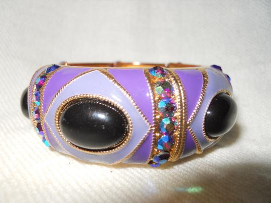 Other enamel stretch with rhinestones Image 1
