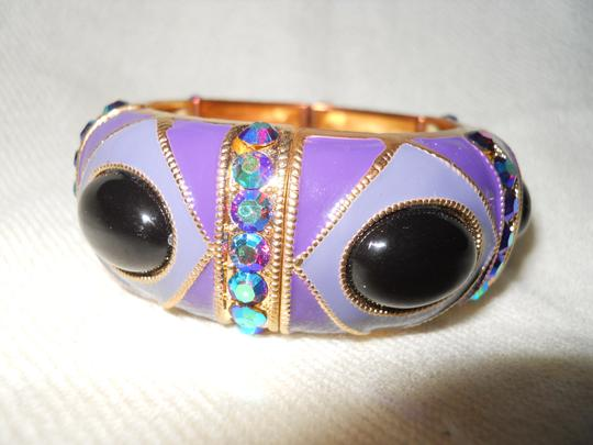 Other enamel stretch with rhinestones Image 2