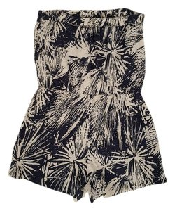 Banana Republic short dress Black and White Romper Summer on Tradesy