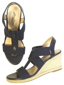 Lucky Brand Morrocan Blue Wedges