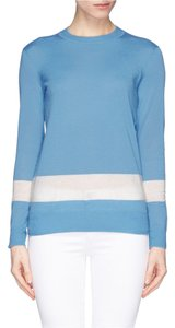 Tory Burch Casual Luxury Bold Stripe Sweater