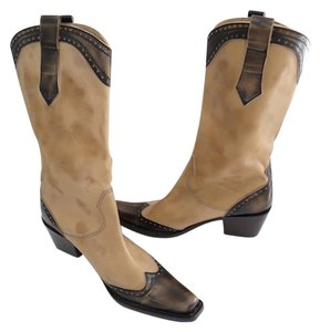 Jesica Bennett Cowboy Western Style New In Box Size 8 Brown Boots