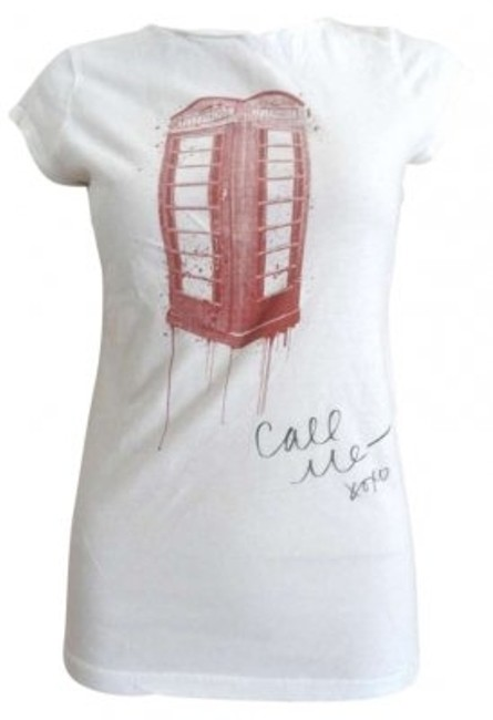 Preload https://item1.tradesy.com/images/bcbgmaxazria-white-large-stretch-call-me-phone-booth-tee-shirt-size-12-l-143730-0-0.jpg?width=400&height=650