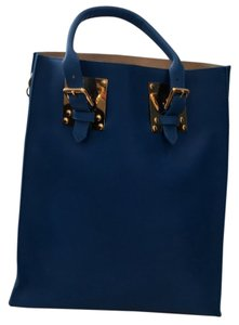 Sophie Hulme Tote in Electric Blue