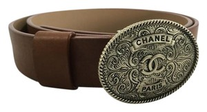 Chanel Chanel Brown Western Inspired Belt
