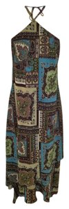 Paisley Multi Brown Maxi Dress by Rabbit Rabbit Rabbit