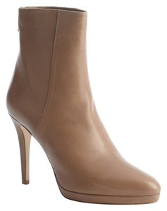 Jimmy Choo Leather Designer Tan Boots