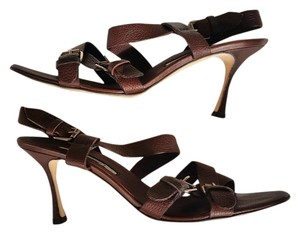 Brian Atwood Brown Sandals