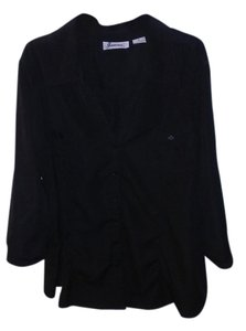 Joanna Button Down Shirt Black