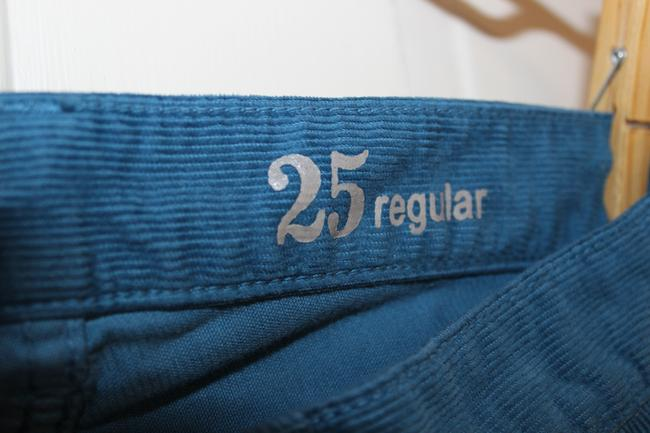 J.Crew Matchstick Corduroy Cord Leg Comfortable Relaxed Fit Fall Winter Straight Pants Seaport Blue