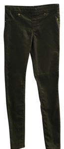 H&M Army Skinny Jeans-Coated