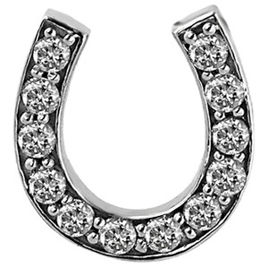 ABC Jewelry Diamond Horseshoe pendant