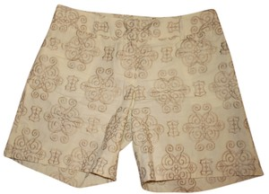 Antonio Melani Gold Gucci Coach Tory Burch Lilly Pulitzer Dress Shorts gold cream
