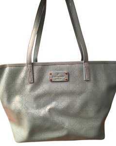 Kate Spade Small Harmony Adriatic Tote in Mint Green