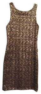 Zara Sequin Low Cut Back Dress