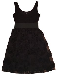 Jump Girl Lbd A Line Embroidery Flowers Dress