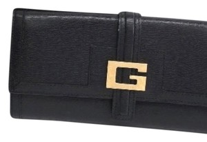 Gucci Gucci New In Box Black Leather Gold G Logo Hardware Wallet In Box