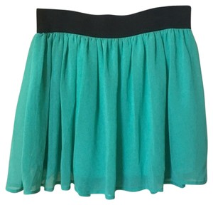 Forever 21 Mini Skirt tiffany blue, mint green