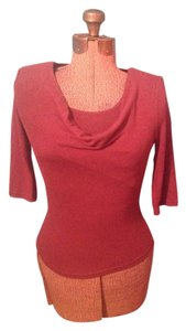 A. Byer Cropped Sleeves Sweater